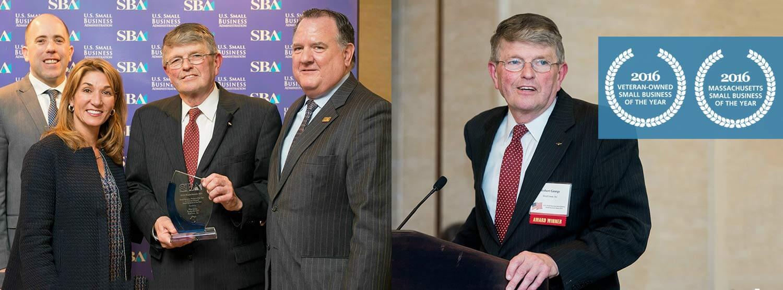 SBA awards ceremony