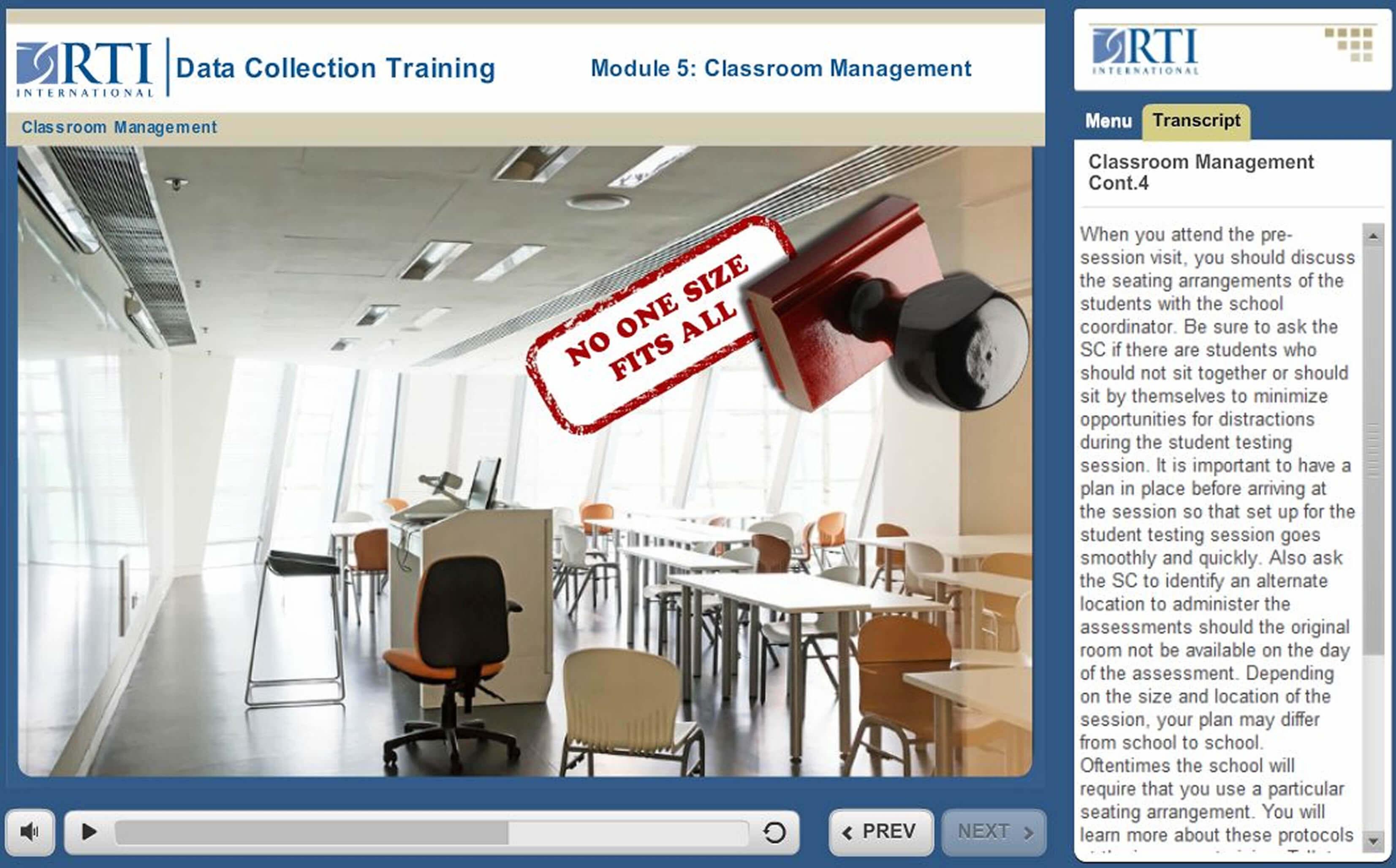 RTI Online Training Modules
