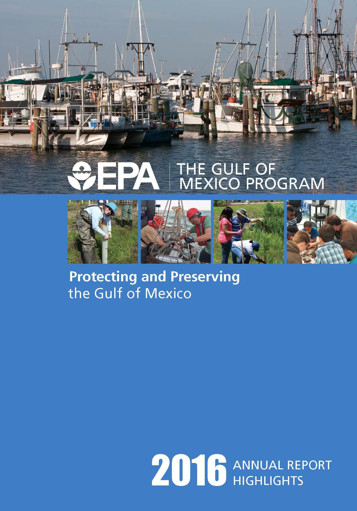 EPA Gulf of Mexico Program Annual Report