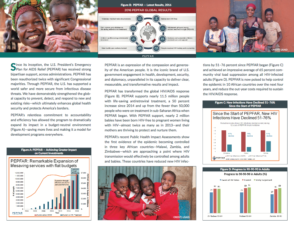 President's Emergency Plan for AIDS Relief Annual Report 2017